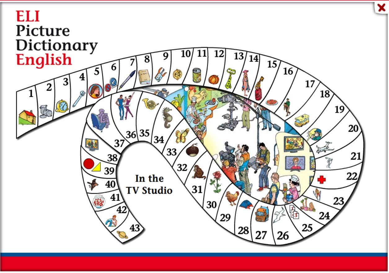 دیکشنری ELI Picture Dictionary